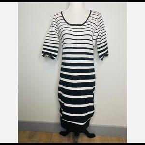 NWOT Betsey Johnson Striped Maxi Dress